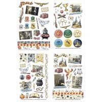 Paper House Classic Stickers - Harry Potter